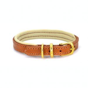 Dogs & Horses Dogs & Horses Lederen Halsband bruin