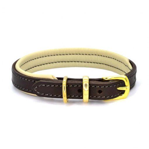 Dogs & Horses Dogs & Horses Lederen Halsband donkerbruin
