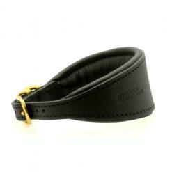 Dogs & Horses Dogs & Horses Honden Halsband zwart/goud