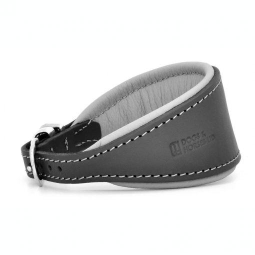 Dogs & Horses Dogs & Horses Honden Halsband grijs