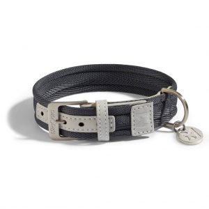 MiaCara MiaCara Riva Halsband grafiet/pearl grey