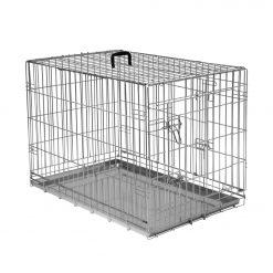 Adori Bench 2-Deurs De Luxe Verzinkt - Hondenbench - 107x71x77 cm