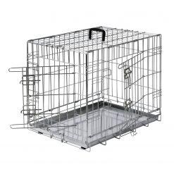 Adori Bench 2-Deurs De Luxe Verzinkt - Hondenbench - 76x48x54 cm