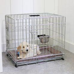 Adori Bench 2-Deurs De Luxe Verzinkt - Hondenbench - 92x57x64 cm