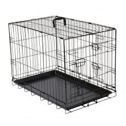 Adori Bench 2-Deurs Zwart - Hondenbench - 107x71x77 cm