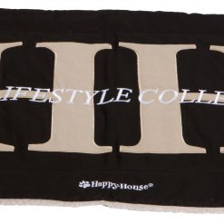 Happy-House Deken Canvas Teddy Hh Zwart - Hondendeken - Small