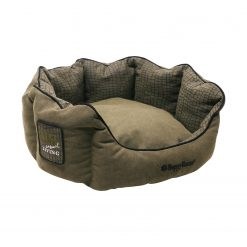 Happy-House Mand Rond Casual Living Collection - Hondenmand - 60x60x26 cm Groen Medium