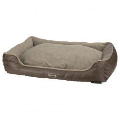 Scruffs Memory Foam Box Bed Chateau Bruin - Hondenmatras - 90x70x16 cm