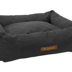 Wooff Mand Cocoon Vintage Antraciet - Hondenmand - Large