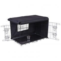 Adori Bench Hoes Zwart - Hondenbench - 62x47x51 cm