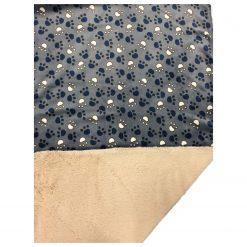 Adori Fleece Deken Dubbel - Hondendeken - 150X100 cm Grijs