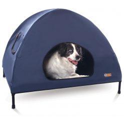K&H Pet Cot House Blauw - Hondentent - Large